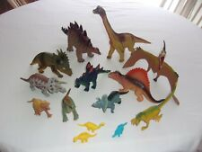 Dinosaur Figure Toys and Minis lot of 14-Large Variety