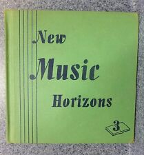 New Music Horizons (3) Book 1944 Wonderful Illustrations By Priscilla Pointer