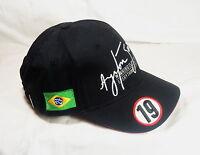 Ayrton Senna Adult's Cap No. 19, BNWOT!!