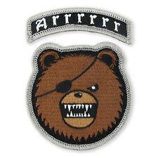 DRB Arrrr Tab Morale Velcro ITS ITW TAD Gear Motus PDW Devru Pirate Bear