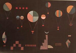 "Wassily Kandinsky Lithograph ""Bahaus Art Design"" Maeght 1965 Plate Signed"