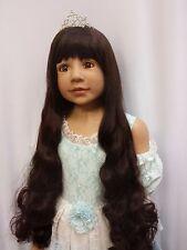 """NWT Masterpiece Dolls Cinderella Brunette Monika Levenig 48"""" Exclusive Doll"""