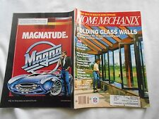 HOME MECHANIX  Magazine-SEPTEMBER,1990-FOLDING GLASS WALLS-MONDAY NIGHT FOOTBALL