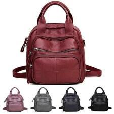 Women PU Soft Multifunction Bags Leisure Handbags Large Capacity Backpack N888