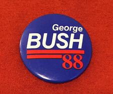 GEORGE BUSH 1988 Presidential Election BUTTON / PINBACK