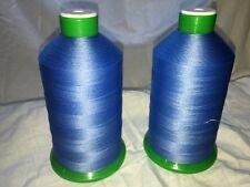 heavy duty sewing thread 2 rolls bonded nylon no 30