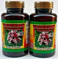 2X VALERIANA / VALERIAN 300 CAPSULES 500 MG. EACH ANXIETY STRESS FREE SHIPPING