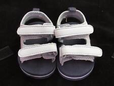 Newborn SZ 2 Baby blue and black sports baby sandals reborn doll fits 3-6 months