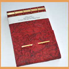 Crushed Sandpaper Cover Handmade Paper Eco Friendly Journal Diary from India