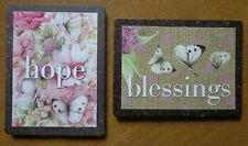 Marjolein Bastin Butterfly Magnets Hope Blessings Nature's Journey~Free Shipping