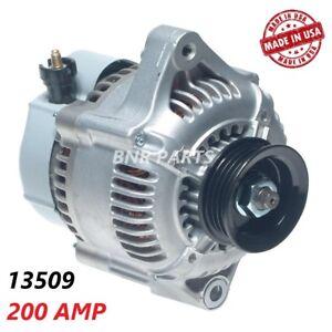 200 AMP 13509 Alternator Honda Civic Del Sol High Output Performance HD USA NEW