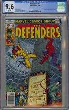 Defenders #61 CGC 9.6 NM+ Wp Marvel Comics 1978 Lunatic & Spider Man + Hell Cat
