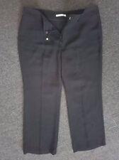 JANE LAMERTON SIZE 16 BLACK PINSTRIPE PANTS  'PERFECT AS NEW'
