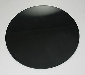 INFRARED TRANSMITTING PERSPEX BLACK 962 in 3mm & 5mm CIRCLES DISCS 100mm-600mm