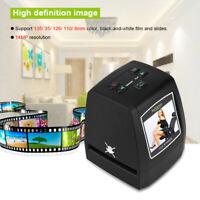135/126/110/8mm 14MP/22MP Film Converter Slide Negative Photo Scanner CMOS TF CO