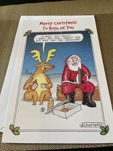 To Both Of You Christmas Card