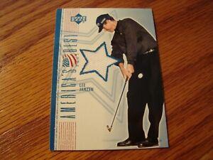 2002 Upper Deck Golf LEE JANZEN America's Best Shirt Card  LJ-AB  -  Free Ship