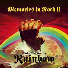 RAINBOW - MEMORIES IN ROCK II - 2CD+DVD NEW SEALED 2018