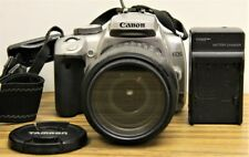 Canon Rebel XTi w/ 18-200mm Tamron Lens and Charger
