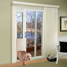 Power Pet Med. Automatic Sldng Glass Pet Door-FACTORY DIRECT From HIGH TECH PET