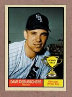 Dave DeBusschere '63 Chicago White Sox Rookie Stars series #4 Monarch Corona