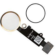 IPhone 7/7 plus homeButton ID Touch Flex Cable menú de sustitución oro tecla
