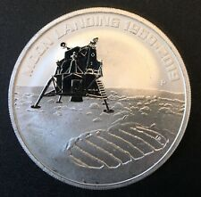 Australia - Silver 1 Dollar Coin - 1 Oz.- 'Moon Landing' - 2019 - Proof