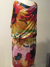 PREOWNED SUZY CHIN FOR MAGGY BOUTIQUE  DRESS SIZE 8 !!! MG