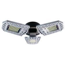 6500K LED Deformable Garage Light Manually Open Ceiling miner Lamp E27 Bulb New