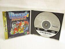 DIGITAL MONSTER VER.S DIGIMON TAMERS Item Ref/bbc Sega Saturn Bandai JAPAN ss