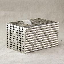New listing 50Pcs Super Strong Round N35 Neodymium Magnets Rare Earth Disc Fridge Craft Hf83