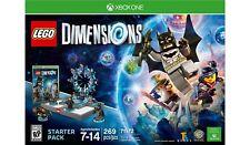 (BRAND NEW ) LEGO DIMENSIONS XBOX ONE STARTER PACK BATMAN KID VIDEO GAMES BLOCKS