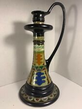 Arnhem pottery from holland  Roma candle stick