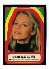 Topps 1978 Charlie's Angels Series 4 Sticker Card #44 Cheryl Ladd As Kris