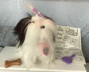 1990's KENNER FLUFFY MY COME HERE PUPPY BARKING WALKING WAGGING TAIL TOY PUPPY
