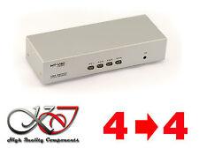 SWITCH + SPLITTER (MATRIX) VGA - 350 MHz - 4 SOURCES VERS 4 SORTIES
