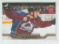 (70088) 2015-16 UPPER DECK CANVAS NATHAN MacKINNON #C142