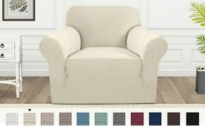1/2/3 Large Seater Jacquard Sofa Cover Couch Slipcover Stretch Elastic Protector