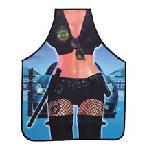 Attitude Sexy Hot Police Girl Lady Kitchen Apron BBQ Cooking Funny Apron