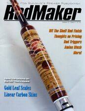 RodMaker Magazine Volume 22 - Issue 4 - Gold Leaf Scales   Linear Carbon Skins
