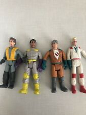 Ghost Busters Columbia Pictures Fright Figure Lot Ray, Peter, Egon, Zeddemore 87