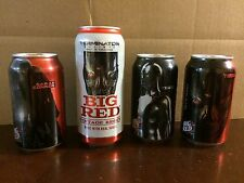Terminator Genisys Big Red Soda Complete Set Of 4 Cans - Sarah Conner T800 T1000