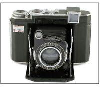 Rare Zeiss Ikon 6x6 B2 w/Zeiss Jena Tessar 80mm f/2.8
