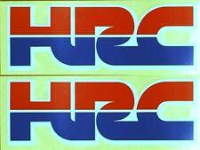Honda Racing Corporation 75mm x 25mm 2359 4 x HONDA HRC Stickers Decals