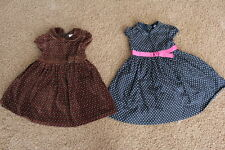 Lot of 2 Fancy Party Dresses Gap & Gymboree Baby Girl  3T -Excellent