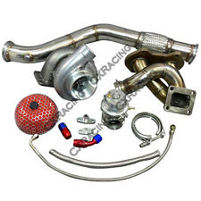 Turbo Manifold Downpipe Wastegate Oil Kit For Mazda RX7 RX-7 SA FA FB 13B