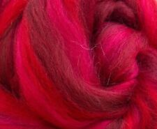 4 Ounces Merino Wool Combed Top/Roving - Red Velvet - SHIPS FREE