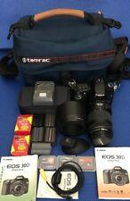 Canon EOS 30D w/ EF 70-300mm f4-5.6 IS USM.w/H-EYEC-18 EP-EX15 w/......
