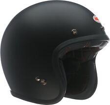 Bell Custom 500 Motorcycle Helmet (Solid Matte Black / Large Size)