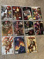 Spider-man / Deadpool 10 Issue Lot -  High Grade Books- Unread + Bonus Book